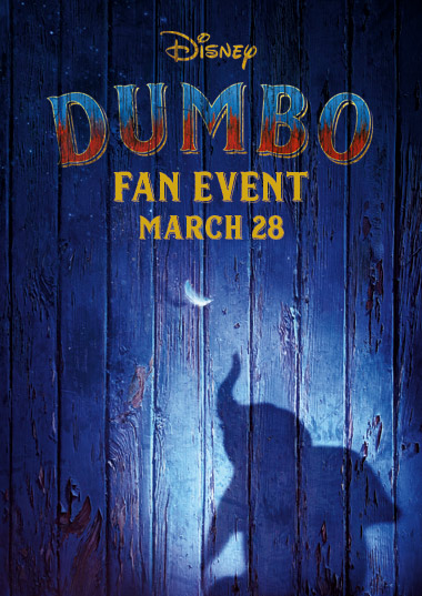 Dumbo Fan Event Poster