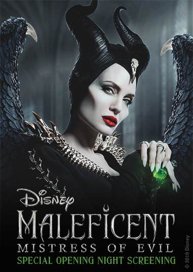 Special Opening Night Maleficent: Mistress of Evil Poster