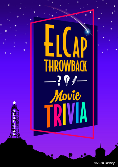 El Cap Throwback: Movie Trivia Poster