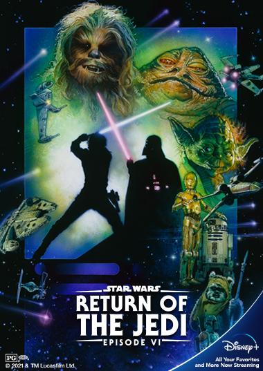 Star Wars VI - Return of the Jedi Poster